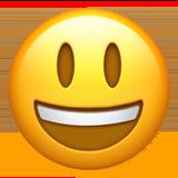 Emoji Big Smile • Apple style