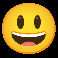 Emoji Big Smile • Google style