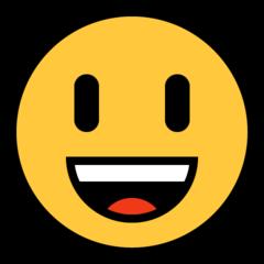Emoji Big Smile • Microsoft style